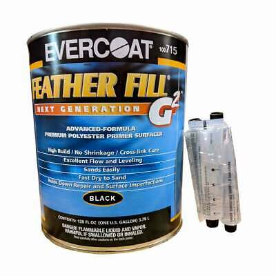 Evercoat Feather Fill G2 Polyester Primer Surfacer Black Color 715