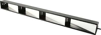 "Race Golf Cart Universal Mirror 4-Panel Full View Wink 2-1/2"" Tall Durable Abs"