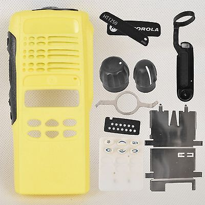 Yellow Repair Housing Case for Motorola HT1250 limited-keypad Portable Radio