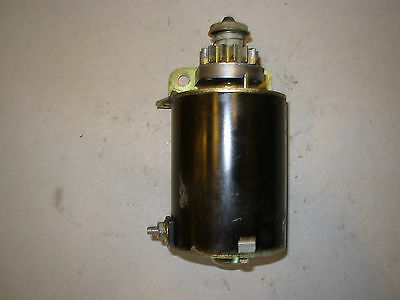 Briggs #693551 12V electric starter- excellent cond.