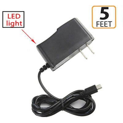 2A AC/DC Wall Power Charger Adapter Cord for ASUS Google Nexus 7 ME370t Tablet
