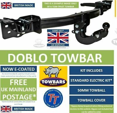 Towbar for Fiat Doblo Cargo Van & Combi MPV 2010on Flange Tow Bar (Type 152/263)