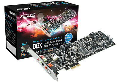 Asus Xonar Dolby DGX PCI Express 5.1-channel GX2.5 gaming audio card,VOIP-for PC