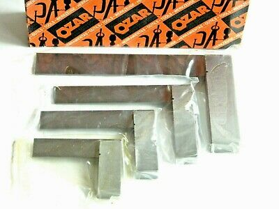 "4 Piece Precision Machinist Square Set Sizes 2"", 3"", 4"", & 6""  Squares ES4, DD"