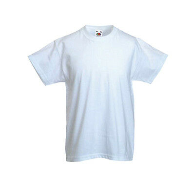 FOTL Childrens T Shirt Plain 100% Cotton Blank Kids Tee Shirt  (3-13 years)