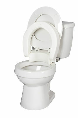 Hinged Toilet Seat Riser by Medbasix