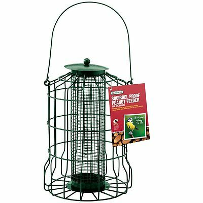 New Squirrel Proof Bird Feeder Nut Bird Feeder Hanging Cage