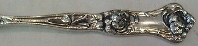 Peony by Wallace Sterling Silver Baby Spoon Bent Handle Custom Made To Order