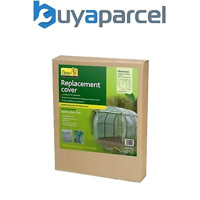 Gardman 08733 Walk In Polytunnel Replacement Reinforced Cover PE Greenhouse
