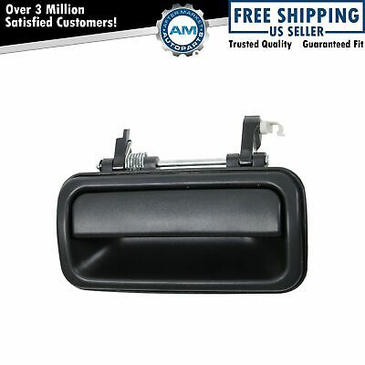 Rear Exterior Outside Textured Door Handle Driver Side Left for Rodeo Passport