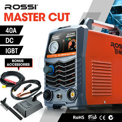 ROSSI Plasma Cutter 40A DC IGBT Inverter Portable Welding Machine 40Amp