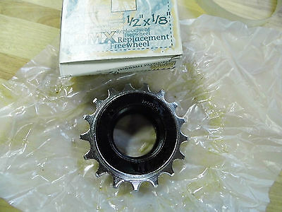 "Main Drive REAR SPROCKET 17t 1/8"" Freewheel BMX CHROME PLATED 63630-0000"