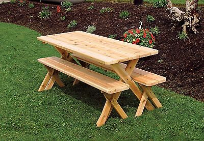 OUTDOOR FT PICNIC Table Cross Legged Benches Paint Colors - Picnic table paint colors