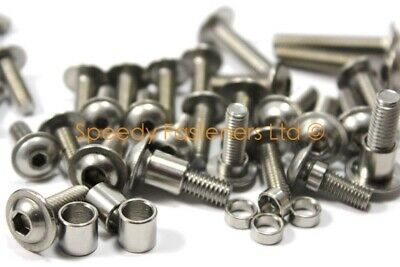 Ducati 1098 1198 848 Stainless Steel Fairing Bolts & Screen Bolts Only Kit