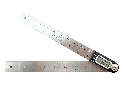 "iGaging 10"" Electronic Digital Protractor Goniometer Angle Finder Miter Gauge"