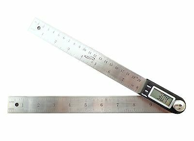 "iGaging 11"" Electronic Digital Protractor Goniometer Angle Finder Miter Gauge"