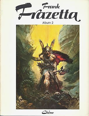 Eo L'art Fantastique De Frank Frazetta ( Tome 2 - 40 Illustrations )