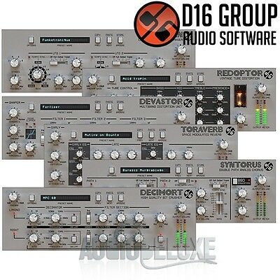 D16 Silver Line Collection Bundle Software Electronic Delivery