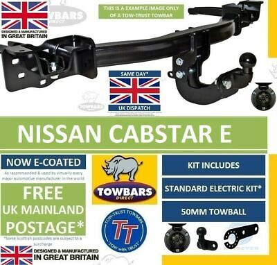 Flange Tow Bar Towbar for Nissan Cabstar E Pickup 2000-2007