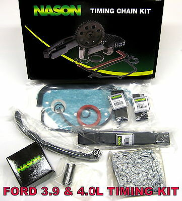 Ford Falcon Timing Chain & Tensioner Kit Suit Ea Eb Ef El Au 6Cyl 3.9 4.0L
