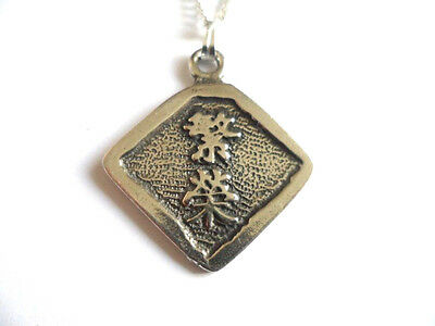 Protection, Wisdom of China pewter pendant