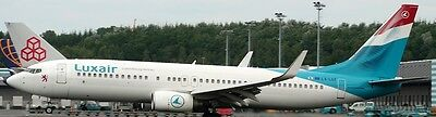 B-737-800 Luxair Airline Boeing B737-800 Airplane Wood Model Free Shipping