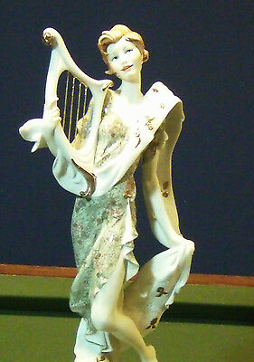 "Giuseppe Armani ""lady With Harp""new In Box-10000/10000-Make Offer!"