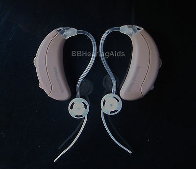 2 GN ReSound Match Open Fit Hearing Aid Aids 3CH High Power Mini Size MA1T70-V