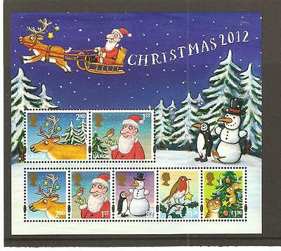 GB MINIATURE SHEET - 2012 - CHRISTMAS - UNMOUNTED  MINT