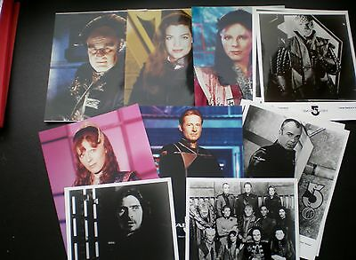 Babylon 5  - 10 x 8   Photographs  ( 9 Different out of 12  )  1990s