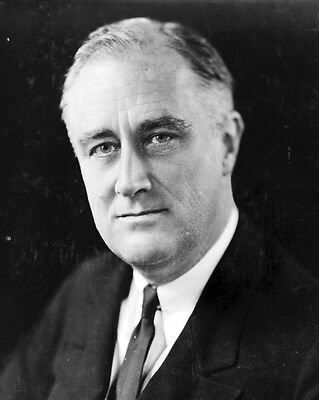 New 8x10 Photo: Franklin D. Roosevelt, 32th President of the United States