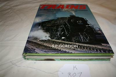 book on train history loco development hard cover good reading [k807]