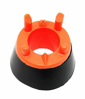 Rugby Kicking Tee Don  Adjustable Kicking Tee Black/Orange **Mega Sale**