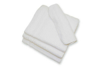 **120 new 100/% cotton terry bar towels single cam border wholesale price 12x12 *
