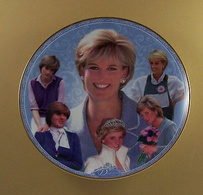 The Princess Diana Memorial Plate Collection DIANA THE PEOPLE'S PRINCESS Danbury