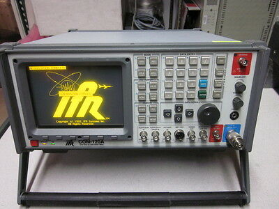 IFR Systems COM-120A Installed Options 01 02 08 12 13