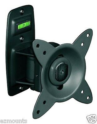 Tilt Swivel LCD LED Plasma TV Wall Mount w/ Removable Faceplate Perfect for RV's