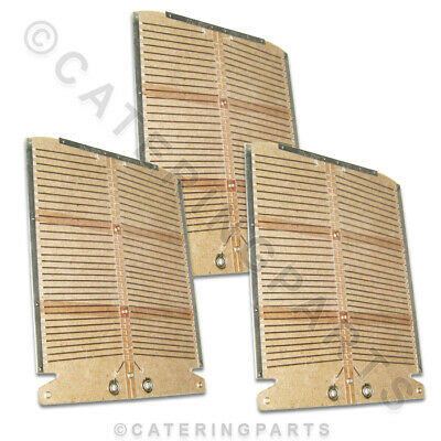 Set Of New Style Heating Elements For Dualit 2 Slice Slot Toaster 3 X Elements