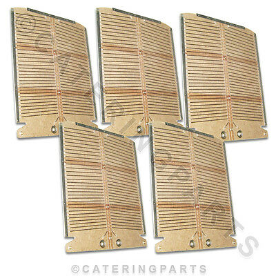 Set Of New Style Heating Elements For Dualit 4 Slice Slot Toaster 5 X Elements