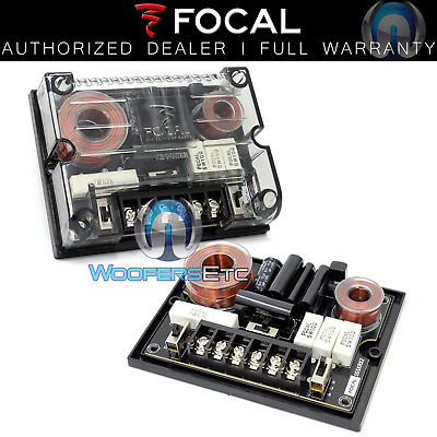(2) Focal Krx2-Xo 2Way 2Ohm Passive Crossovers For 165Krx2 Speakers And Tweeters