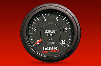 BANKS DYNAFACT 1500° PYROMETER GAUGE w/ WELD IN BUNG - CHEVY FORD DODGE