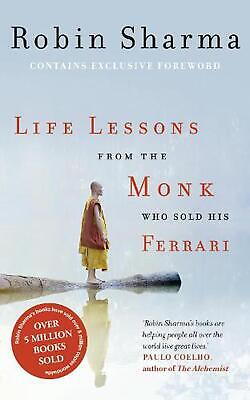 Life Lessons from the Monk Who Sold His Ferrari by Robin Sharma (English) Paperb