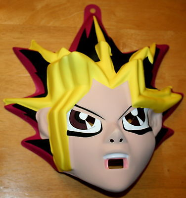 Vintage 1996 Yu-Gi-Oh Japanese Anime Halloween Cosplay Mask unused New NOS