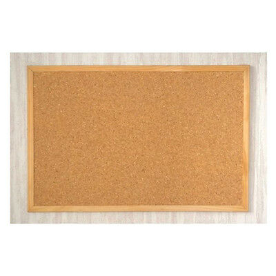 NEW WOODEN FRAME CORK PIN 40cm X 60cm NOTICE MEMO MESSAGE BOARD NOTES