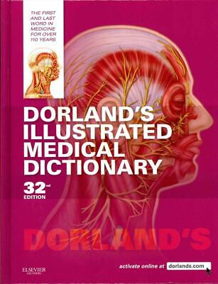 Dorland's Illustrated Medical Dictionary by Dorland Hardcover Book (English)