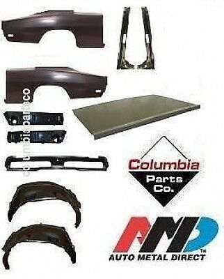 Body Kit Charger 69 1/4 Skin Drop Gutter Tail Panel Outer Wheelhouse Amd