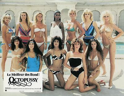 James Bond 007 Girls Pin-Up Octopussy 1983 Vintage Photo Lobby Card N°3