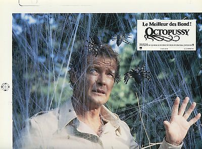 James Bond 007 Roger Moore Octopussy 1983 Vintage Photo Argentique Print Test 3
