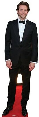 Bradley Cooper LIFESIZE CARDBOARD CUTOUT STANDEE STANDUP Actor Hollywood Star