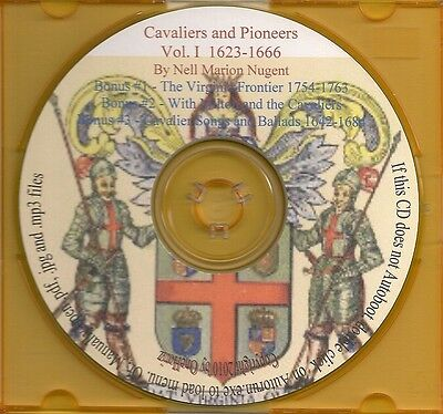 Cavaliers and Pioneers Volume I - Virginia Land Patents and Grants